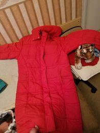 Красная зимняя куртка ESPRIT