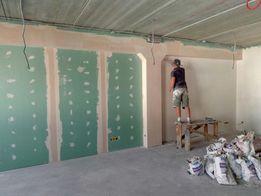 Шпаклевка стен и потолков/Покраска/Малярные работы/