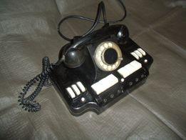 Телефон директорский, коммутатор телефонный КД-6, винтажный советский.