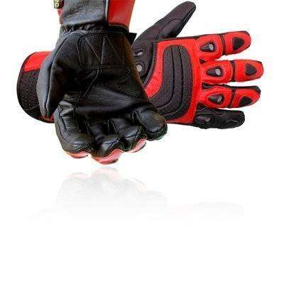 Genuine leather Motorcycle Glove Power Bike Glove 0
