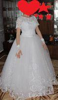 Продам белое свадебное платье