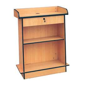 Simple Wooden Speech Stands, Podiums