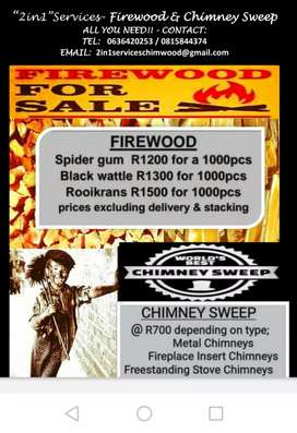 Firewood & Chimney Sweep Services