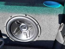 "12"" sub and amplifier"