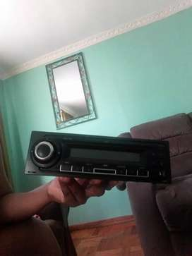 Bluetooth cd radio USB SD card slot player is in good condition.