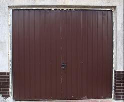 Brama garażowa 230x210 uchylna drzwi garażowe Transport Gratis
