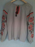Блуза вышиванка новая разм. L
