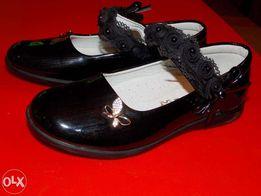 Śliczne lakierowane buciki skóra roz. 34 20cm buty lakierki