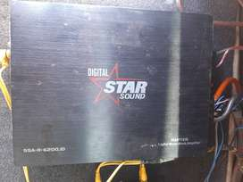 6200w amp for sale