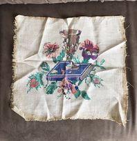 Винтажная вышивка на церковную тематику