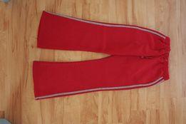 Czerwone dresy XS