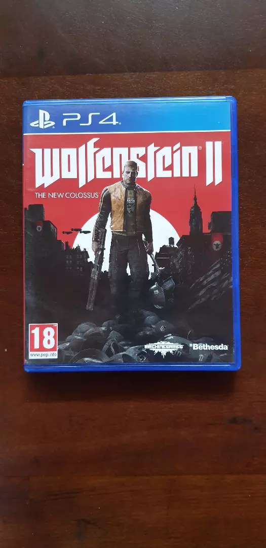 Wolfenstein The New Colossus 0
