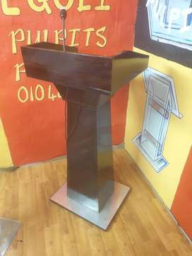 ADDITIONAL BOX SHAPE WOODEN PODIUMS
