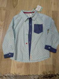 Новая нарядная рубашка на мальчика 18-24 мес Marks and Spenser