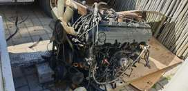 Mercedes 300SE Engine and Gearbox