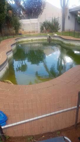 Swimming Pool cleaning services and mantainancing