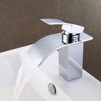 Kran z efektem wodospadu - do umywalki - seria PREMIUM EXCLUSIVE