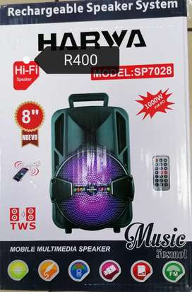 Rechargeable speaker system