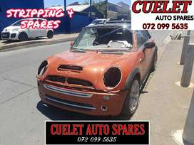 Mini Cooper stripping for parts and Accessories