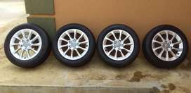 Audi A3 tyres with original mags