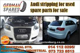 Audi stripping for used spares