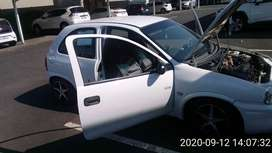 Opel Corsa lite for sale as is