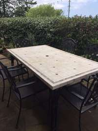Image of Outdoor Table & Chairs