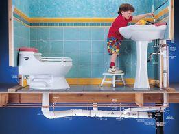 Сантехнік, професійна прочистка каналізації