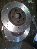 Проточка тормозных дисков. Тормозные диски.