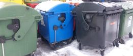 Мусорный Бак Б/У Контейнер для мусора ТБО евроконтейнер для сміття тпв