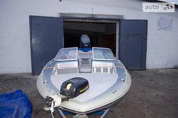 Скловолоконний моторний човен Checkmate Trimate , мотор 100 к.с.