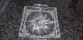 Gorgeous Square Crystal Side dish