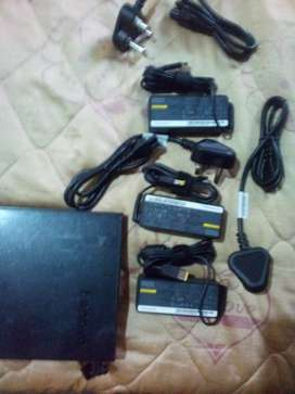 Charger and external dvd writer