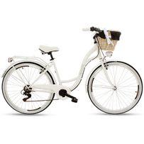 """NOWY rower miejski/damski Goezte Mood 26"""" 6-biegowy (biały) PROMOCJA"""