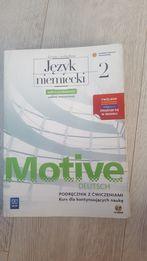Sprzedam podręczniki do języka niemieckiego Motive Deutsch