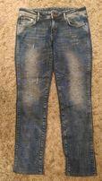 Jeansy spodnie hm