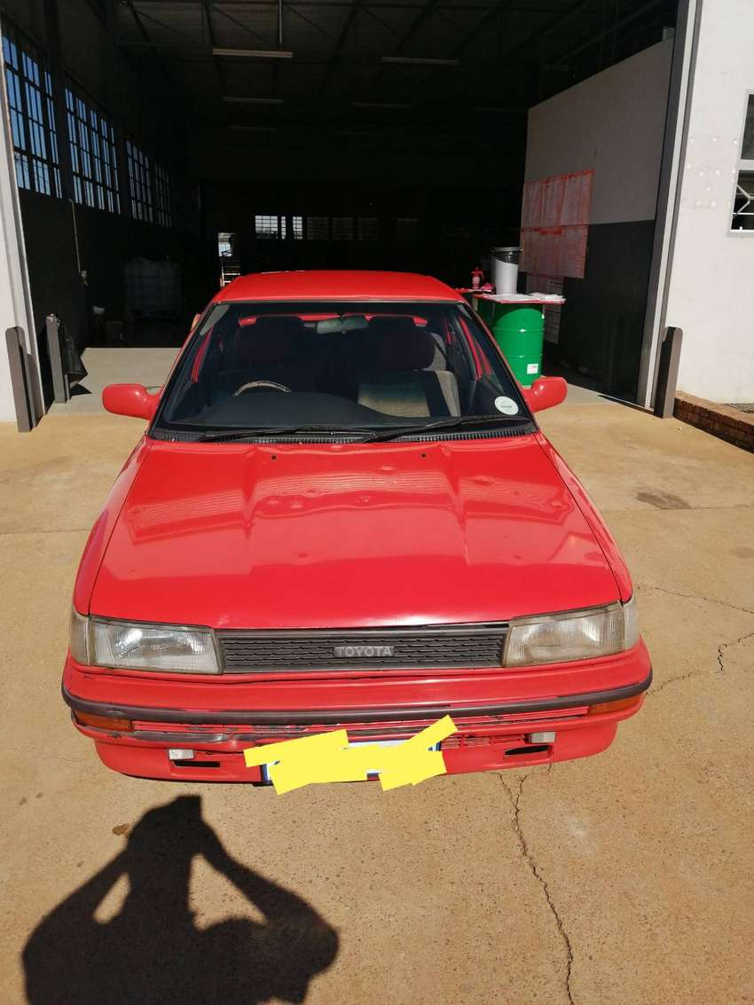 Toyota corolla sprinter 1996 1.8 twin cam feul injection 0