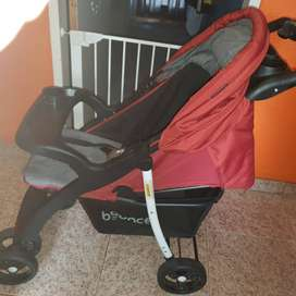 Bounce Stroller and detachable carseat
