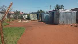 Stand for sale at thulane known as snake park