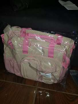 5 piece nappy bag