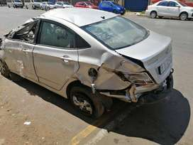 2016 Hyundai Accent stripping for spares by K & M Motor Spares