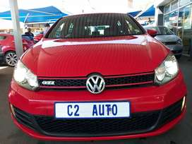 2011 Red Volkswagen Golf 6 2.0 GTI