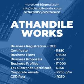 Register your business with us quick and easy
