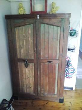 Antique distressed wardrobe for SALE!