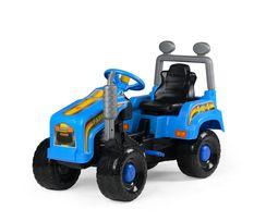 Mega traktor jeździk z otwieraną maską-nowy