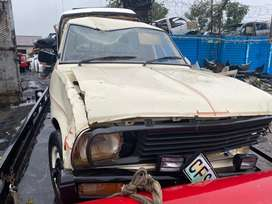 NISSAN 1400(5SPEED)-STRIPPING FOR SPARES