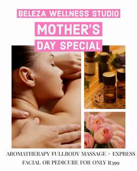 MOTHERS DAY PAMPER SPECIAL