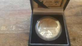 Silver one ounce R2 proof coin
