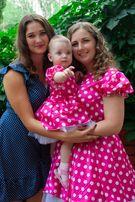 Платье мама + я