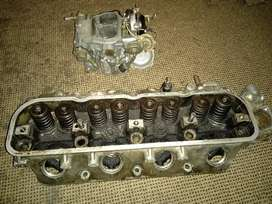 Cylinder head and carburator
